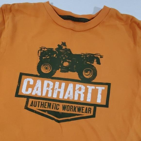 Carhartt Other - Boys orange Carhartt short sleeve tee small 8-10